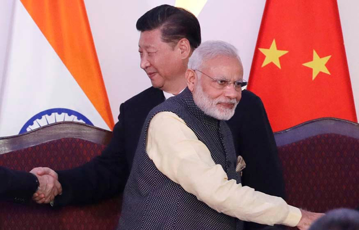 A border dispute with China may push India closer to some of Beijing's top rivals