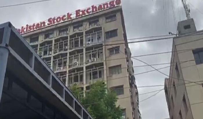 Terrorists attack Karachi stock exchange, enter premises, 7 killed
