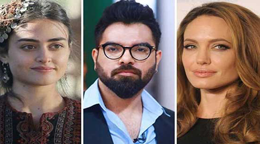 Yasir Hussain suggests replacing Ertugrul Ghazi's Esra with Angelina as PSL team ambassador