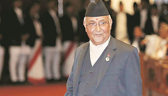 Nepal PM Oli meets President amid demand for resignation