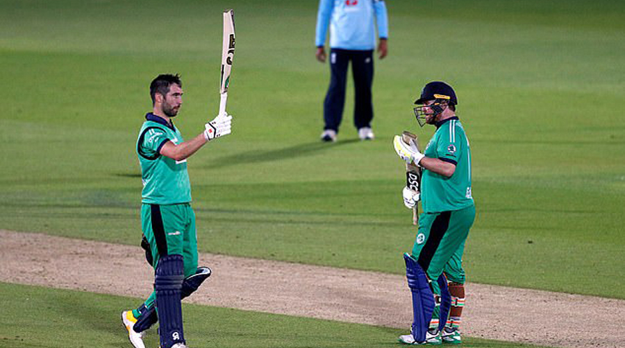 Paul Stirling, Andy Balbirnie set up famous chase as Ireland hunt down 329