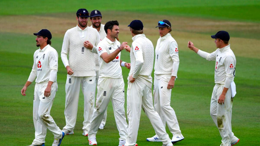 England take series 1-0 after James Anderson reaches 600