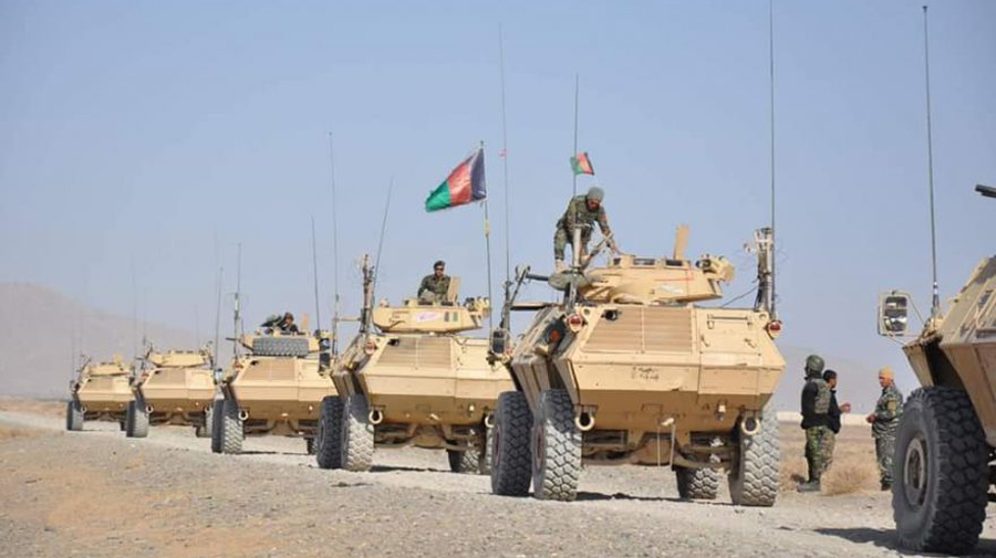 Afghan forces kill, wound at least 16 Taliban militants in Ghazni province