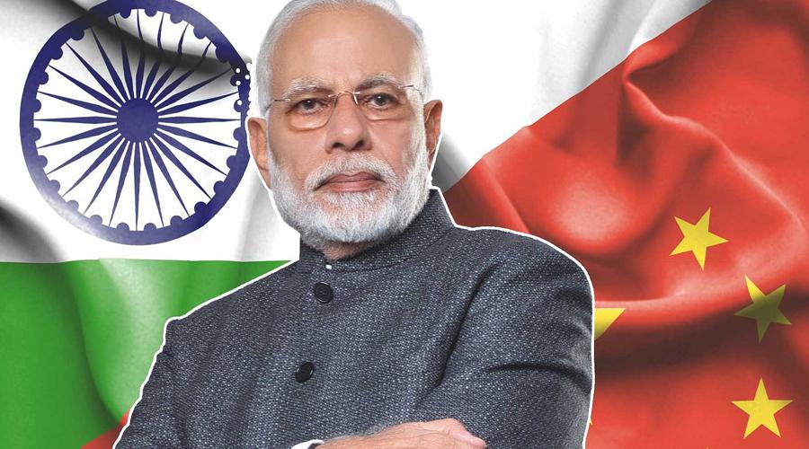 56 percent chinese public likes Modi Government