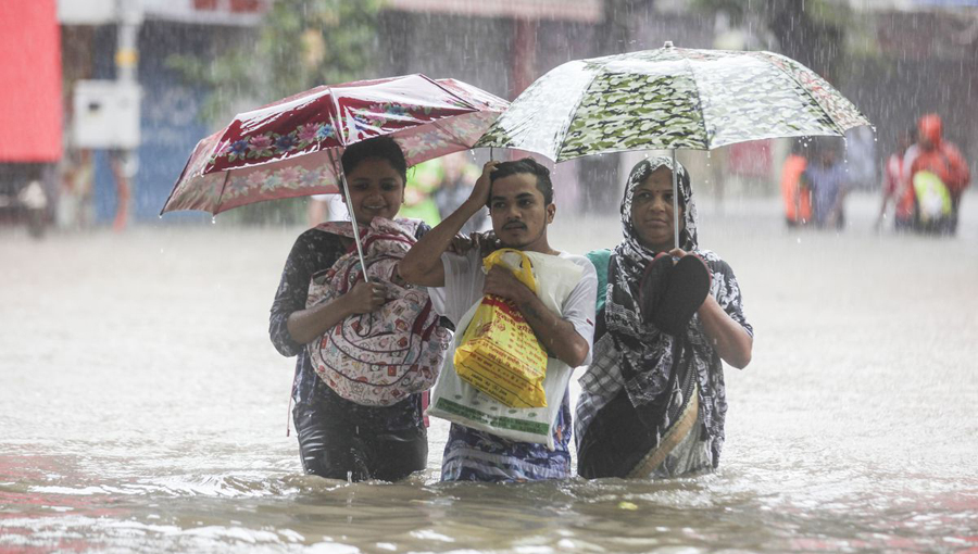 Disasters of monsoon rains and floods in South Asia
