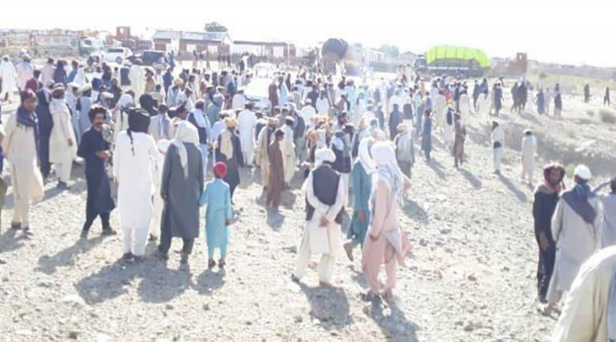 South Waziristan residents' protest Against introduction of custom duty at Angoor Adda continues