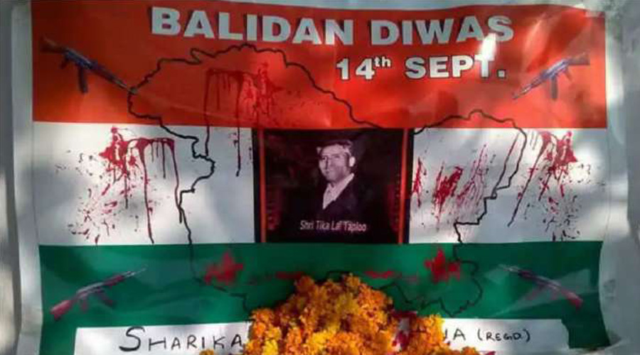 BJP leaders in Kashmir observe 'Balidan Divas' as a tribute to Kashmiri pandits