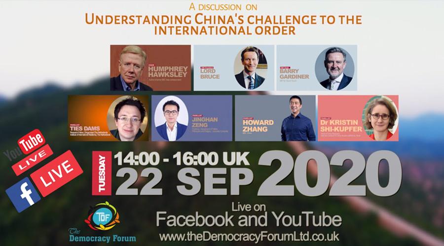 Understanding China's challenge to the international order
