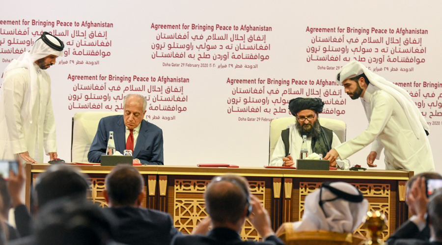 Actual Peace accord is the centre point of intra Afghan talks