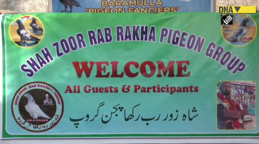 Indian Army organizes pigeon flying competition in J&K's Baramulla