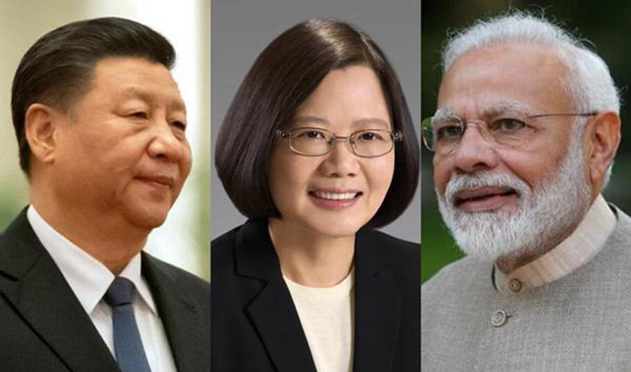 China opposes India-Taiwan trade ties
