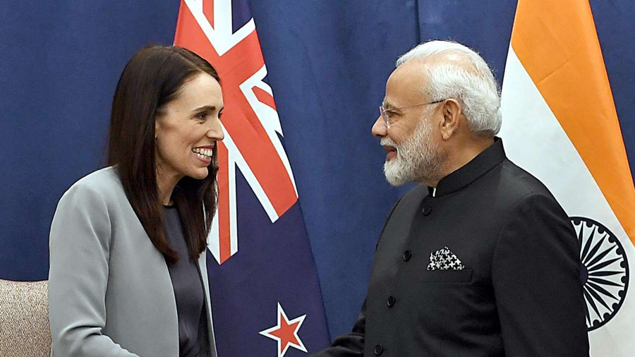 PM Modi congratulates New Zealand counterpart Jacinda Ardern on poll win