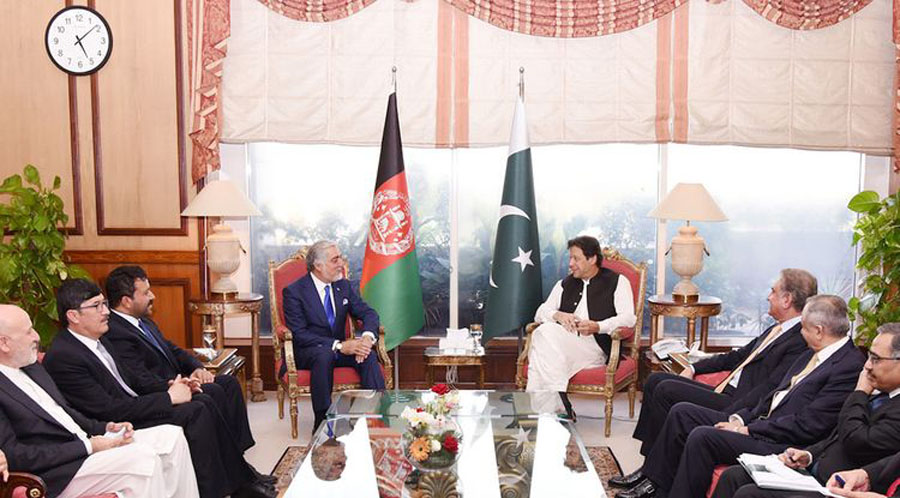 Abdullah Abdullah discussed what with Pakistan political and Army leadership