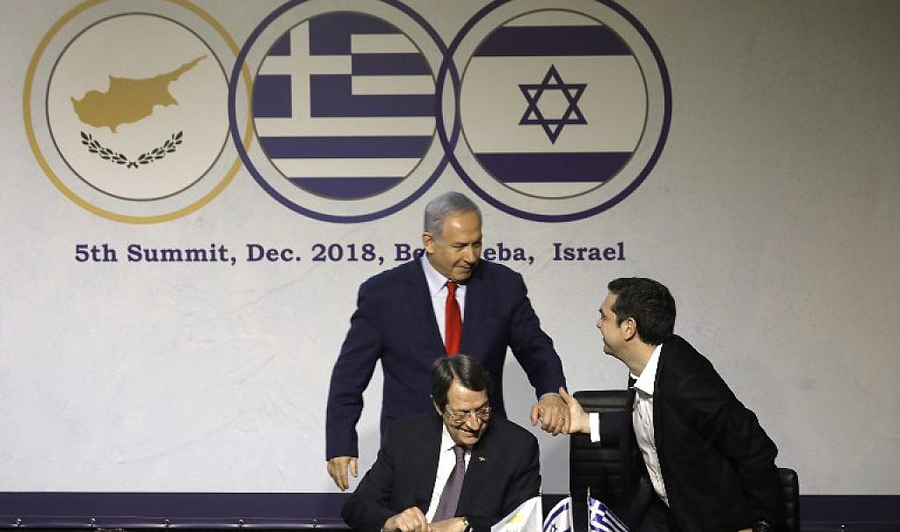 Greece,Cyprus and Israel to form a new Geographical alliance