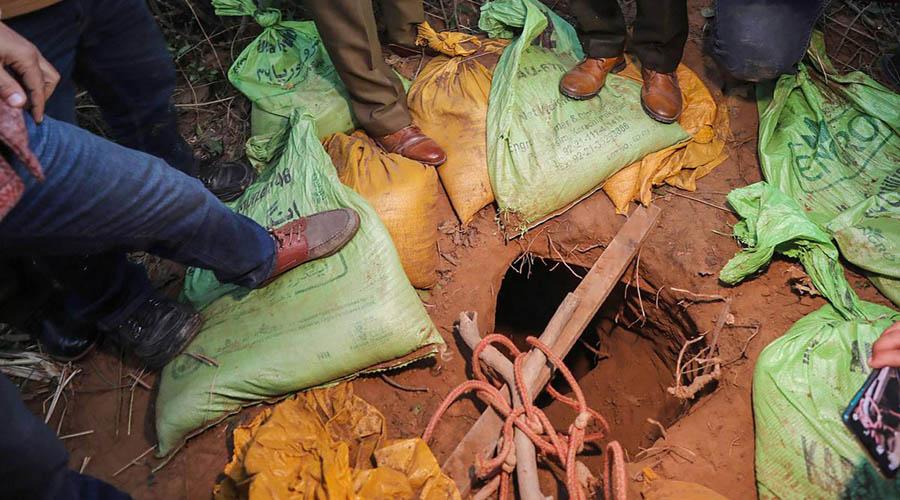 underground tunnel used by Jaish militants found in Jammu and Kashmir