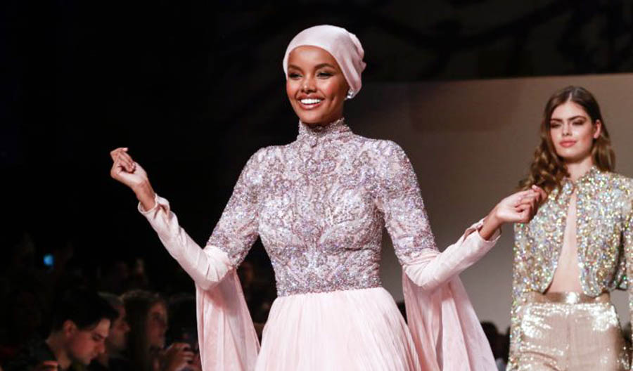 Model Halima Aden quits runway citing pressure to 'compromise' religious beliefs