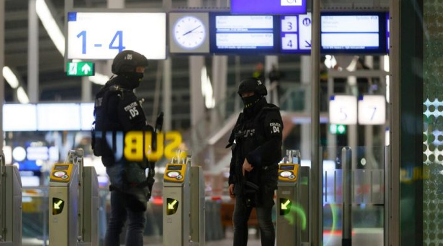 Netherlands.. Two suspects arrested at train station