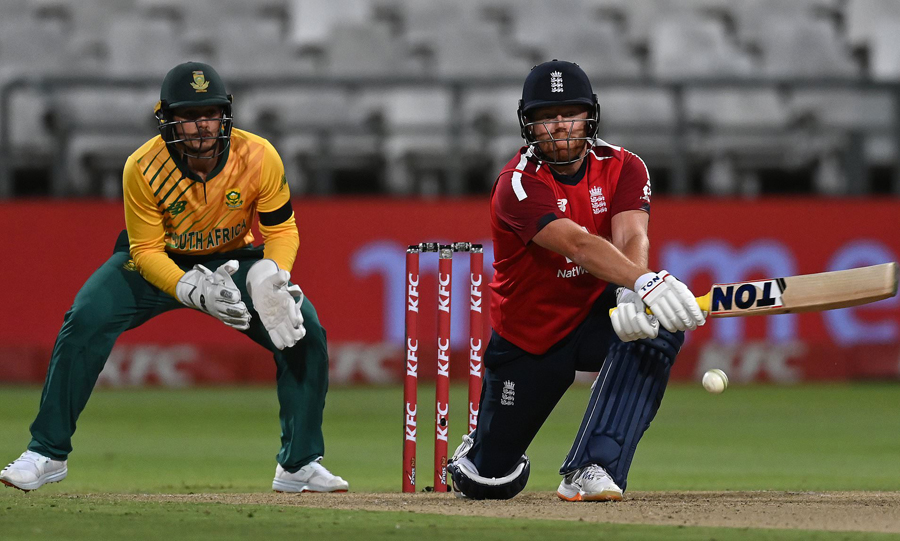 Jonny Bairstow 86* fires England to win over South Africa in first T20I