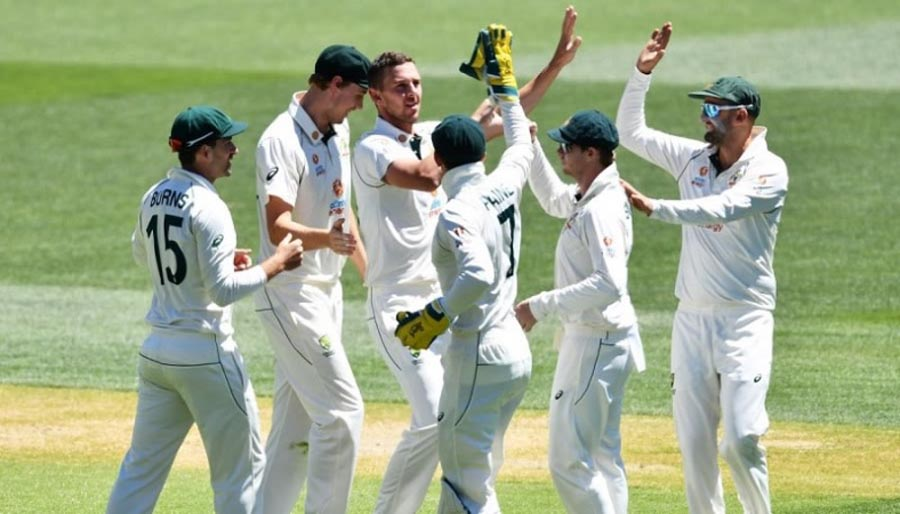 Australia romp to victory after India's lowest total in Tests