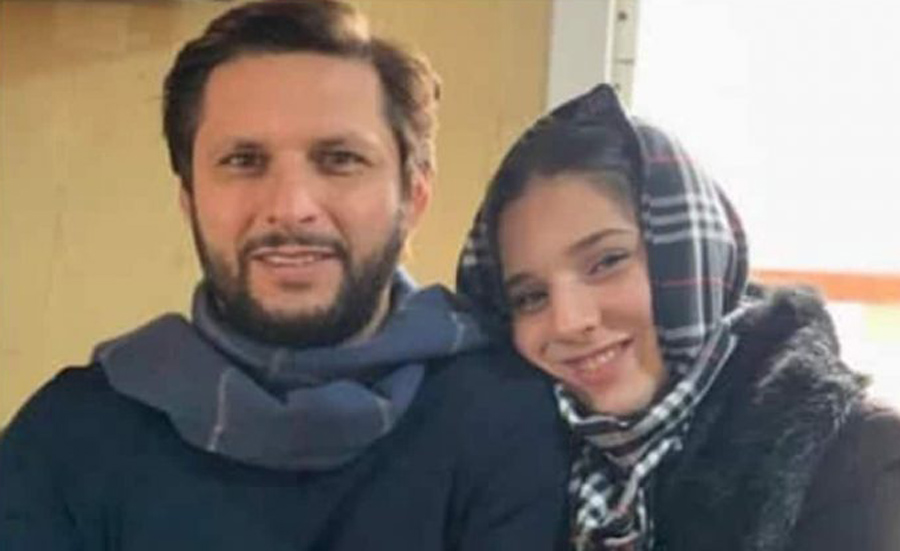 Former Pakistan cricket captain Shahid Afridi is furious over rumors circulating about his daughter