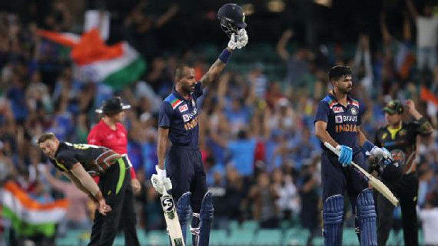 Hardik, Dhawan, Natarajan hand India unassailable 2-0 lead in T20I series