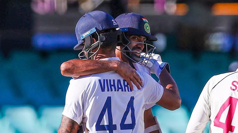 R Ashwin and Hanuma Vihari's epic stand seals remarkable SCG draw