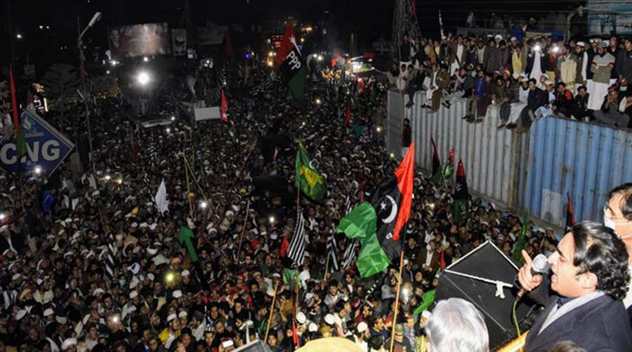 Bilawal Bhutto lashes out at 'incompetent, corrupt' government at Malakand rally