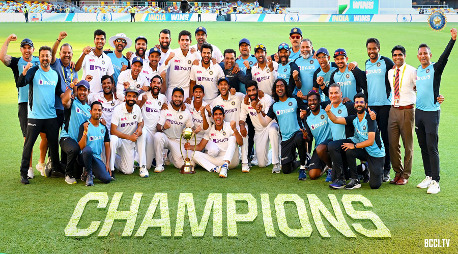 Magnificent India take epic series in last hour of last day of last Test