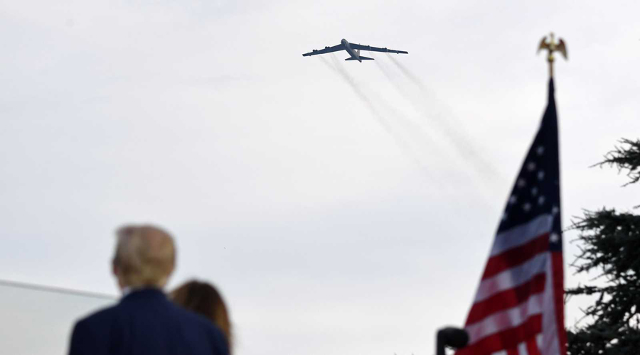 US despatched 2 more 2 B 52 fighters to Middle East to deter Iran