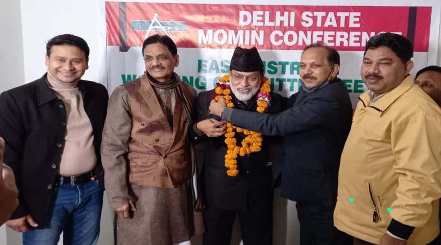 Need to enter politics for community development: Delhi Momin Conference President Imran Ansari