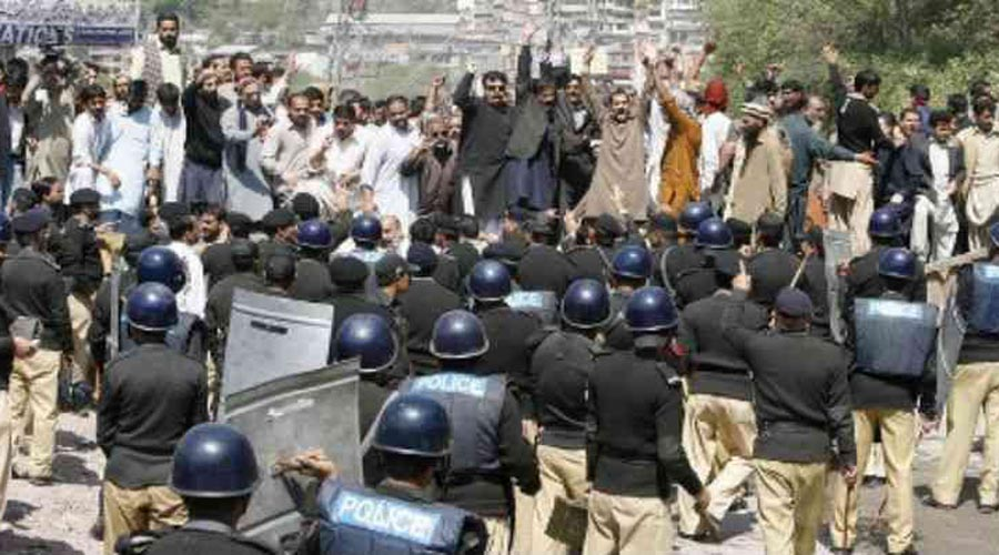 Protest in PoK against Pak atrocities continues