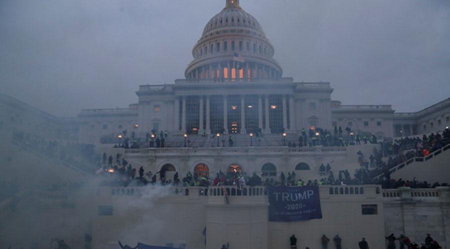Trump supporters storm US Capitol ,four dead
