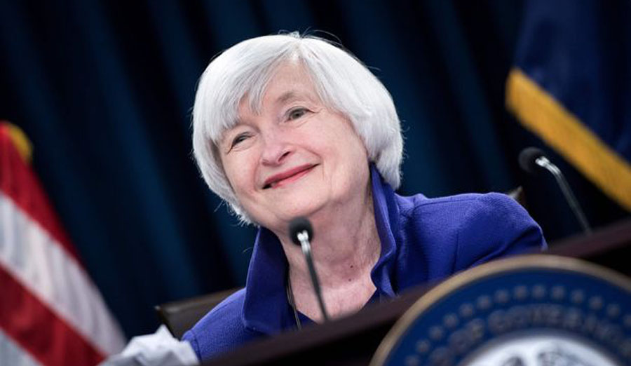 US Senate confirms Yellen as first female Treasury secretary