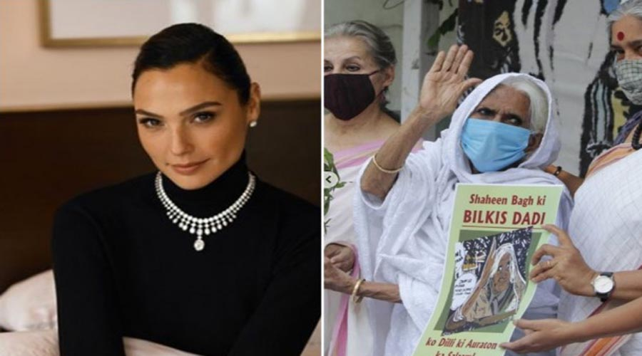 Hollywood Star Gal Gadot hails Shaheen Bagh's Bilkis Dadi as one of her 'Personal Wonder Women'