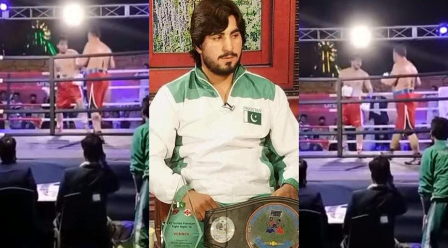 Boxer Muhammad Aslam Khan dies after collapsing in ring following brutal KO