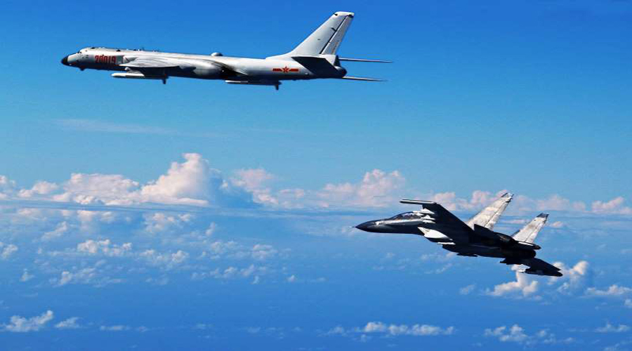 Taiwan deploys missiles after Chinese jets 'enter its air zone