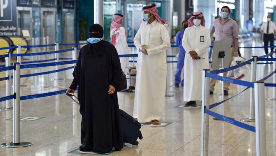 Saudi Arabia travel ban 20 countries new coronavirus