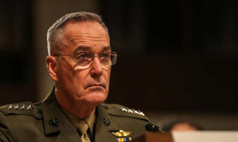 Afghan Taliban have had sanctuary in Pakistan: Ex-top US general Joseph F Dunford
