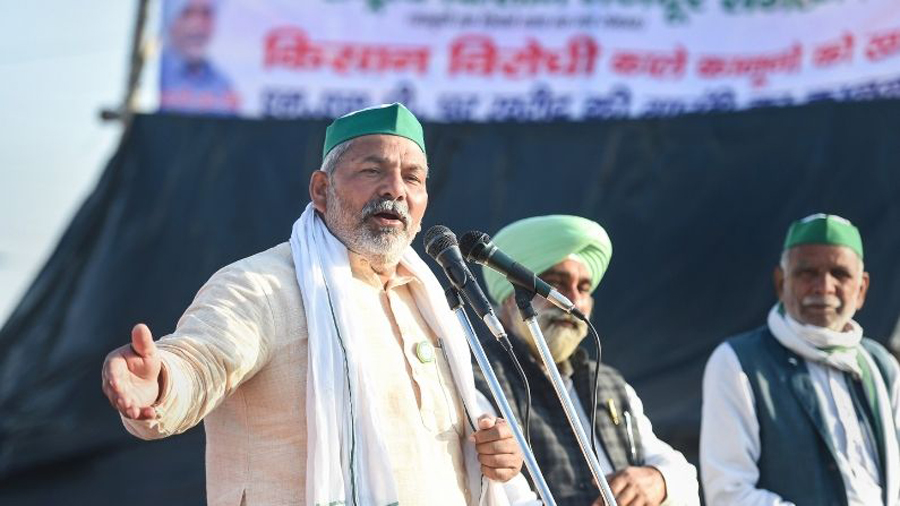 Agitation will not conclude before October:says Rakesh Tikait