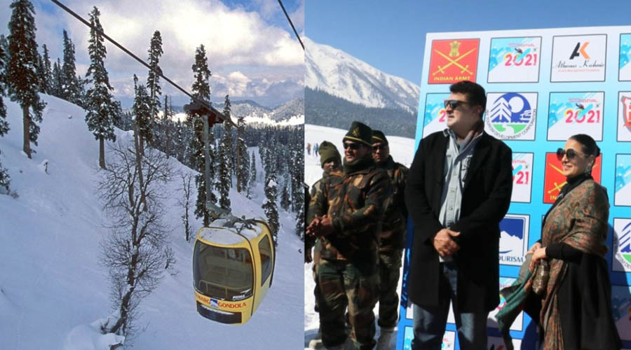 Gulmarg Winter Festival hosts Bollywood stars