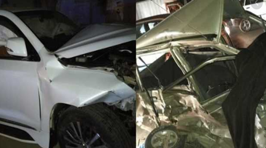 Four killed as Kashmala Tariq's protocol vehicles hit car after jumping signal in Islamabad