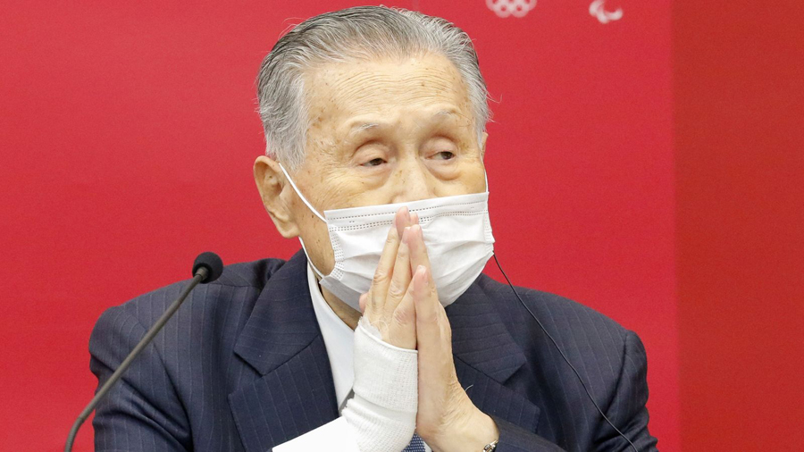 Tokyo Olympic chief apologizes but refuses to resign