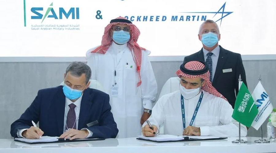Saudi's SAMI signs defence venture deal with US Lockheed Martin of US