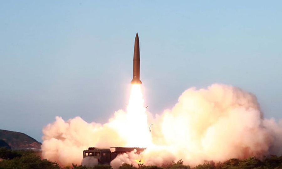 North Korea launches two ballistic missiles