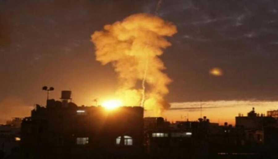 Iranian weapons warehouse destroyed in Israeli missile attacks and bombardment in Damascus