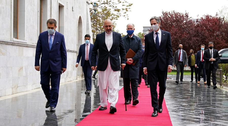 Antony Blinken, U.S. Secretary of State, Visits Afghanistan