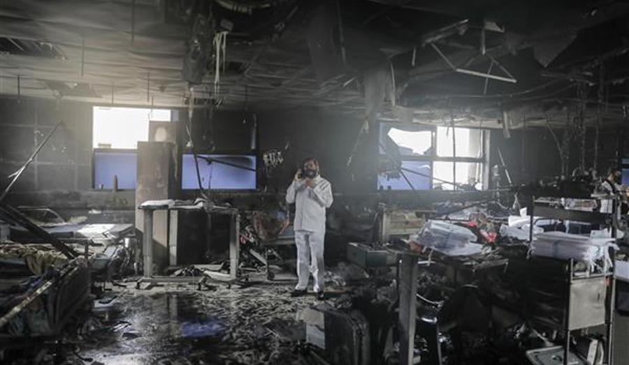 Fire at Vijay Vallabh Hospital in Mumbai's Virar, 14 Covid-19 patients die
