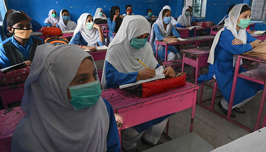 Covid -19: schools from class 1 to 8th will remain closed till 28 April in Pakistan