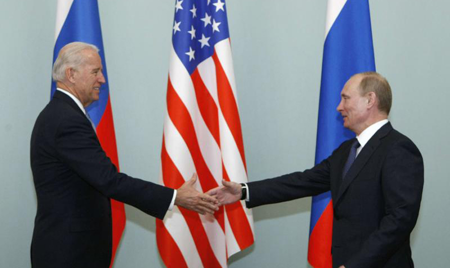 Russia and US face to face to claim domination and control over sea , land and air