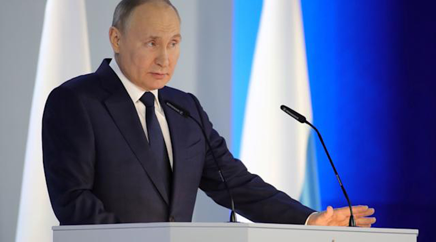 Nations that threaten Russia's security will 'regret their deeds : says Vladimir Putin